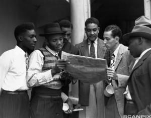 Jamaican migrants to Britain, 1948