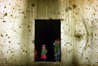 Afghan refugees.